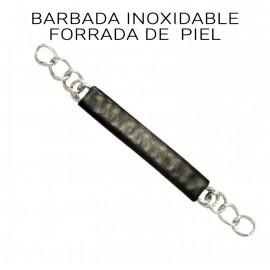 BARBADA PIEL CON CADENA GR