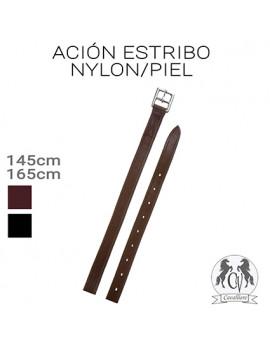 ACION ESTRIBO PIEL/NYLON...