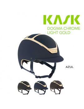 KASK DOGMA CHROME LIGHT GOLD