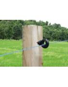 Aisladores para madera